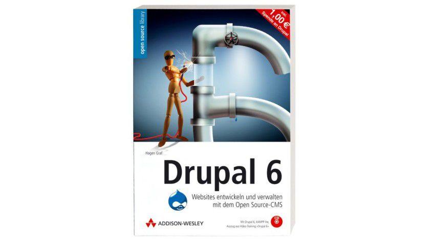 Kostenloses eBook im Wert von 24,95 Euro: Drupal 6.