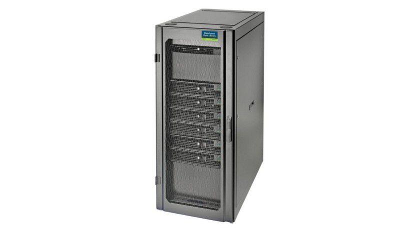 Mainstorconcept MDL-IS: Die Virtual-Tape-Lösung für Mainframes beginnt bei 8 TByte Kapazität und ist in 8-TByte-Stufen erweiterbar. (Quelle: Mainstorconcept)