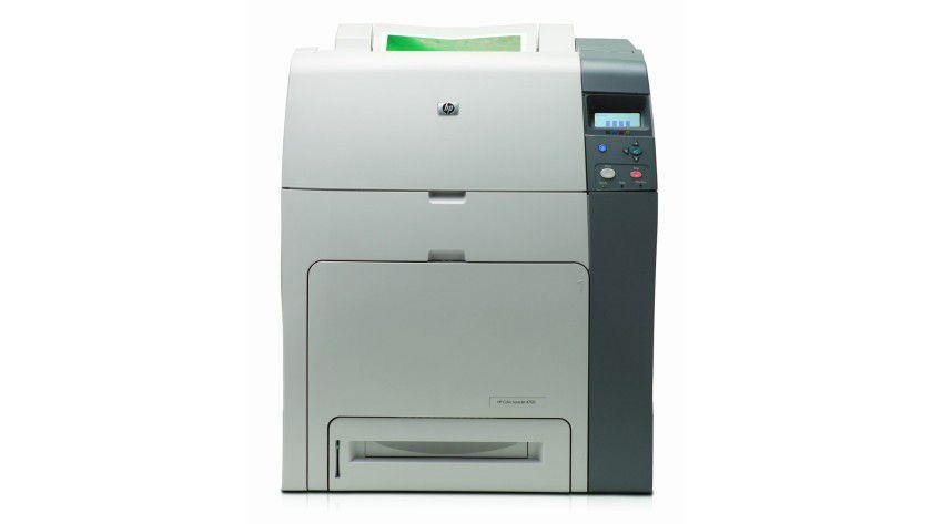 HP Color LaserJet 4700: Der Netzwerk-Farblaser für Arbeitsgruppen druckt bis zu 30 Farbseiten pro Minute. (Quelle : Hewlett Packard)