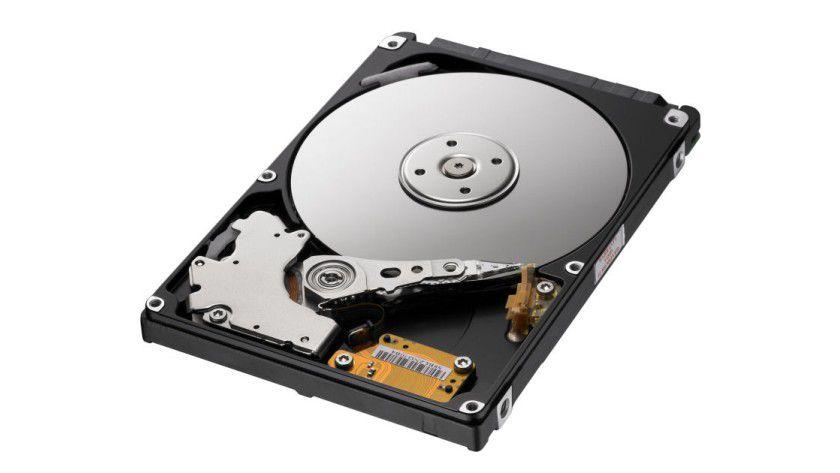 Samsung SpinPoint M7 Enhanced: Die neuen 2,5-Zoll-Festplatten setzen auf 320-GByte-Magnetscheiben. (Quelle: Samsung)