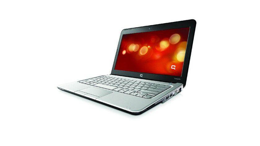 HP Compaq Mini 311: Das 11,6-Zoll-Display arbeitet mit 1366 x 768 Bildpunkten und wird von einem Nvidia ION angesteuert. (Quelle: Hewlett Packard)