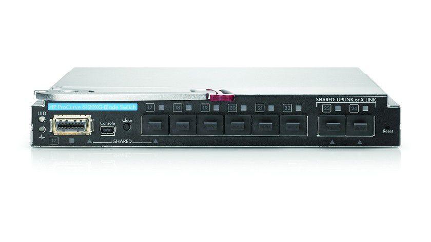 HP ProCurve 6120XG: Der Blade Switch soll den Umstieg von 1-Gbit- auf 10-Gbit-Technologie vereinfachen. (Quelle: HP)