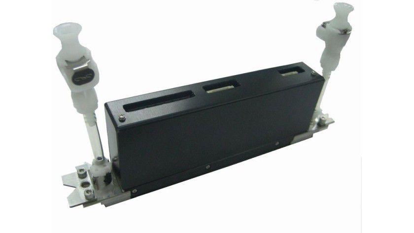 Kyocera-Druckkopf KJ4: Der Druckkopf ist mit 2656 Düsen bestückt. (Quelle: Kyocera)