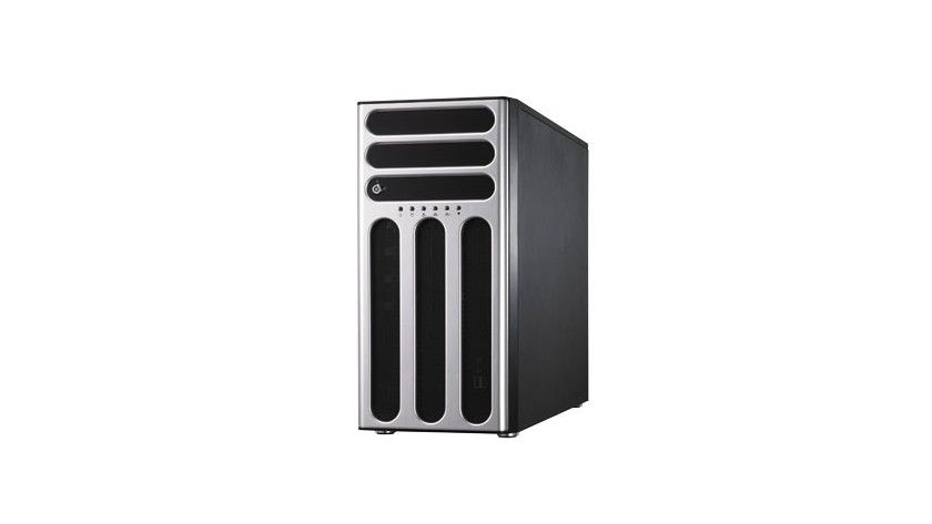 Calleo 145: Den Server hat de Hersteller als Standalone-Tower-Server konzipiert. (Quelle: transtec)