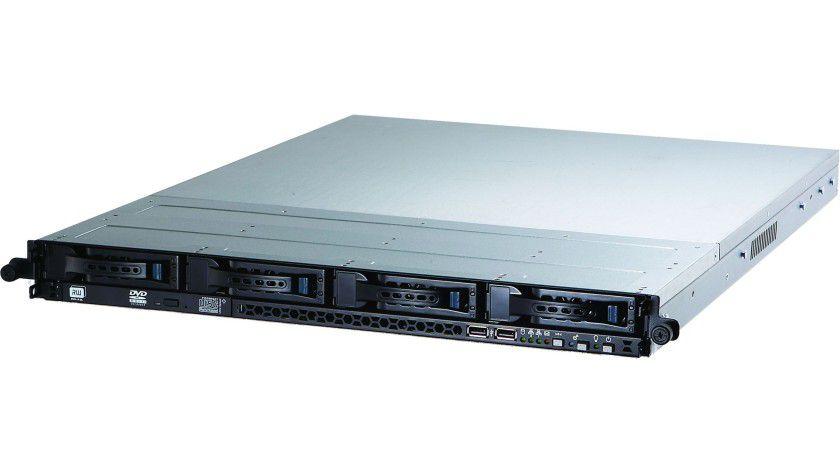 Pizzablech: Den 5125-Server eignet sich für die Montage in ein 19-Zoll-Rack. (Quelle: Lynx)