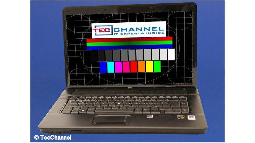 HP Compaq 615: Das 15,6-Zoll-Display arbeitet mit einer Auflösung von 1366 x 768 Bildpunkten.