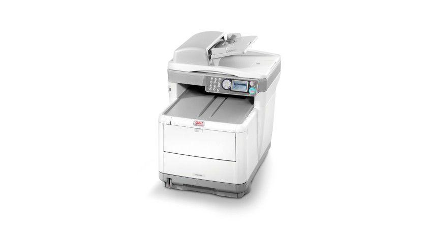 Oki MC360: Das farbfähige Multifunktionsgerät soll bis zu 16 Farbseiten pro Minute produzieren. (Quelle: Oki)