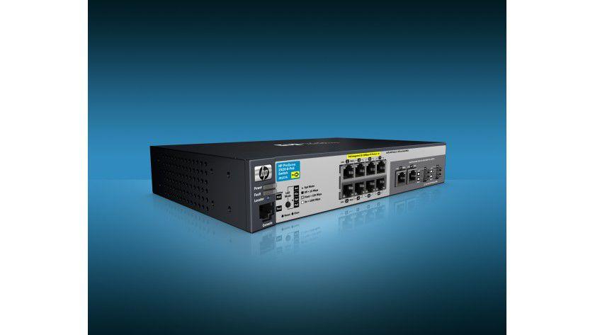 Neu: HP stellt den ProCurve 2520 8 PoE Switch vor. (Quelle: HP)