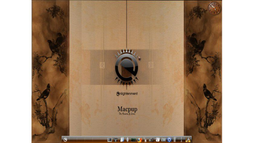 Macpup Foxy 3.0: Basiert auf Puppy Linux und verwendet Enlightenment 17.