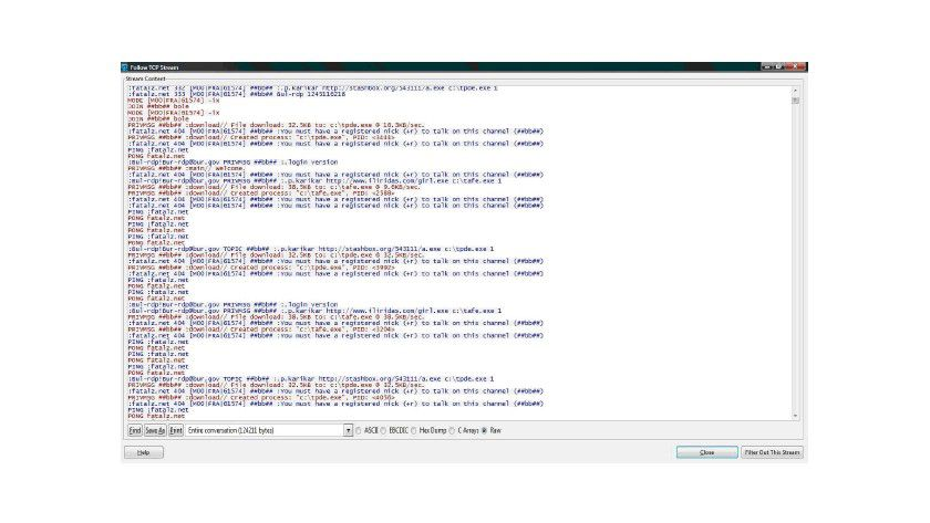 Kontrolle per IRC: Die SDBOT-Familie installiert Software für andere Kriminelle. (Quelle: Trend Micro)