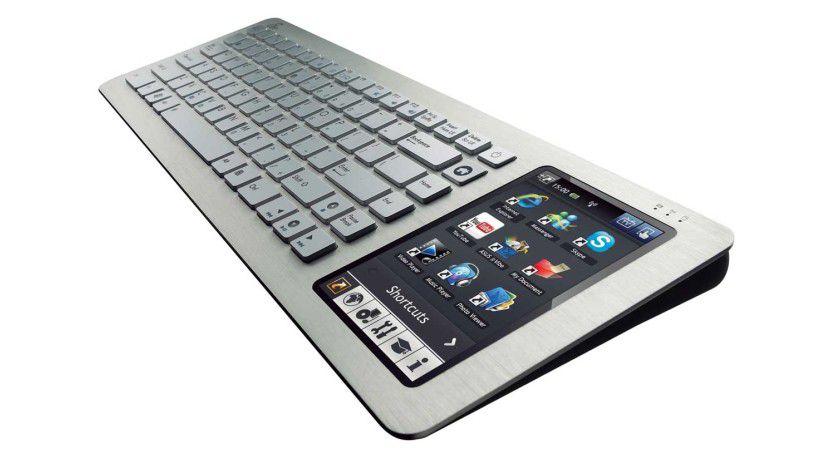 Kompakt: ASUS packt die komplette Hardware eines aktuellen Netbooks in eine normale Tastatur.