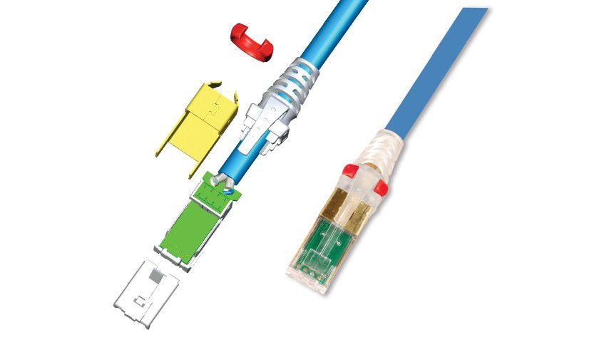 Modular: Die speziellen Z-MAX Kabel sind mit modularen Steckverbindungen ausgestattet.