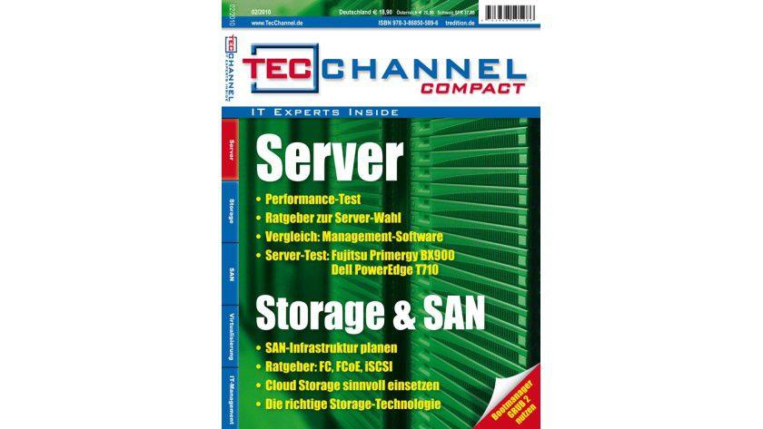 Server, Storage und SAN: Das neue TecChannel-Compact beantwortet auf rund 160 Seiten wichtige Fragen zum Thema.