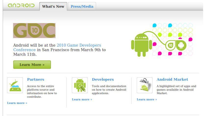 Der Stein des Anstoßes: Google Android ärgert Steve Jobs.