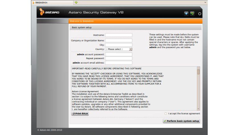 Testausgabe: Ab sofort ist die Öffentlichkeit eingeladen, Astaro Security Gateway 8 zu testen.
