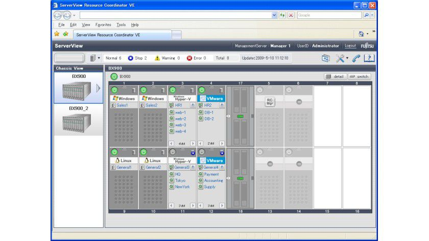 Erleichterung: ServerView RCVE Preview soll die Verwaltung virtueller Maschinen vereinfachen.