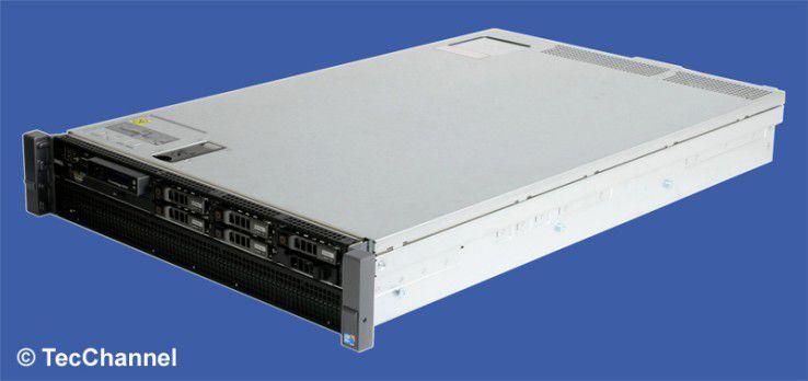 Rack-Power: Das System PowerEdge R520 ist mit aktueller Server-Technologie ausgestattet.