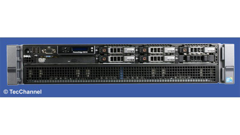 Neuling: Dell offeriert den Rack-Server PowerEdge R810 mit zwei Octa-Core-Xeon-Prozessoren und der FlexMem-Technologie.