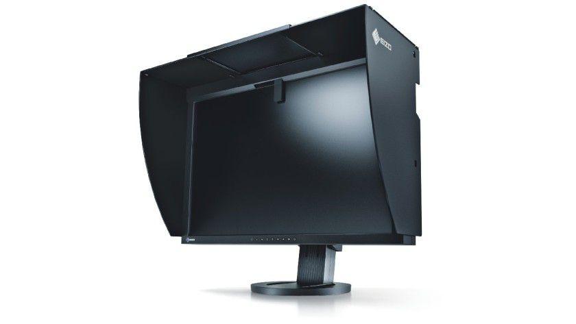 Eizo CG245SW: Das Display richtet sich an professionelle Anwender mit hohen Anforderungen an die Farbgenauigkeit. (Quelle: Eizo)