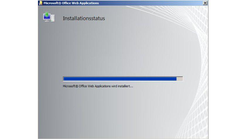 Zielgerichtet: Die Installation muss auf dem SharePoint-Server erfolgen, auf dem Anwender die Funktion nutzen wollen.