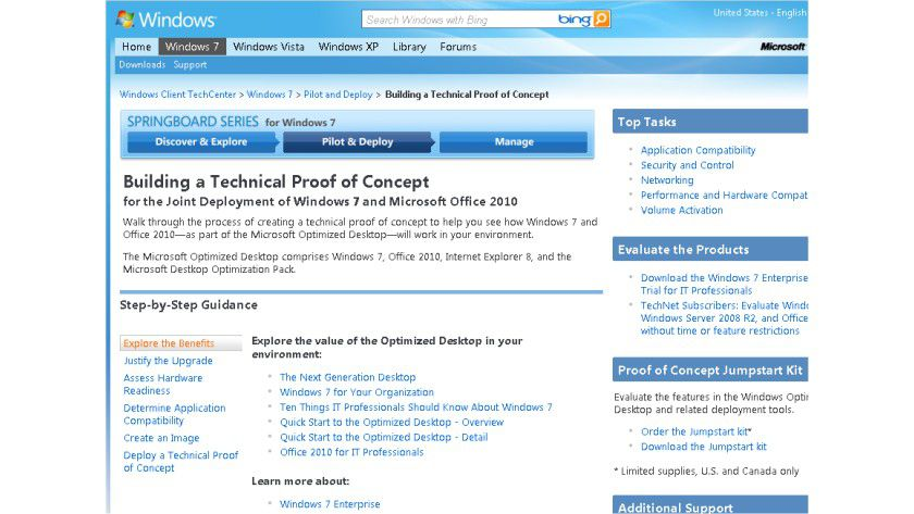 Probepackung: Das Proof of Concept Jumpstart Kit soll den Einstieg in die neuen Microsoft Technologien erleichtern.
