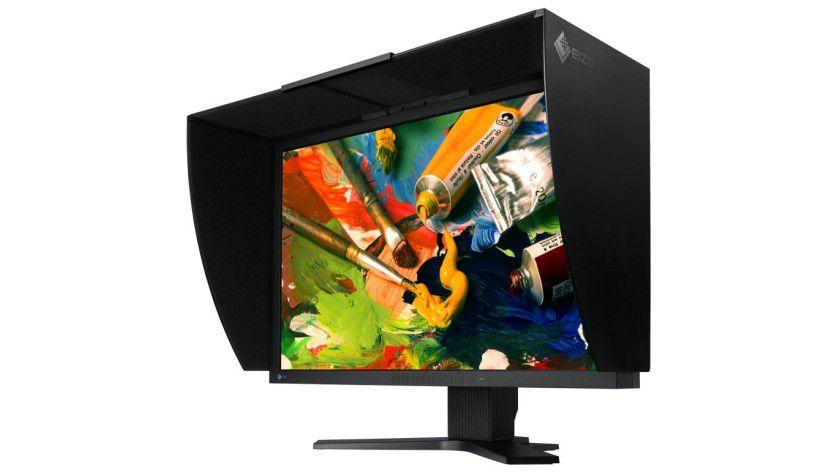 Eizo CG303W: Der 30-Zoll-Monitor arbeitet mit einer Auflösung von 2560 x 1600 Bildpunkten. (Quelle: Eizo)