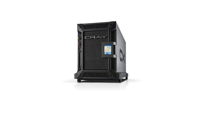 Rechenkünstler: Der CRAY CX1 Supercomputer soll HPC-Performance für jedermann ermöglichen. (Quelle: Cray)