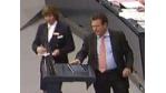 Ungemach im Bundestag: Rede vom iPad abgelesen - Foto: FDP