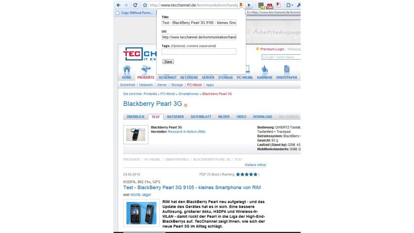 Postponer: Mit der Erweiterung für Google Chrome können Sie Webseiten bequem und übersichtlich speichern, um sie später zu lesen.
