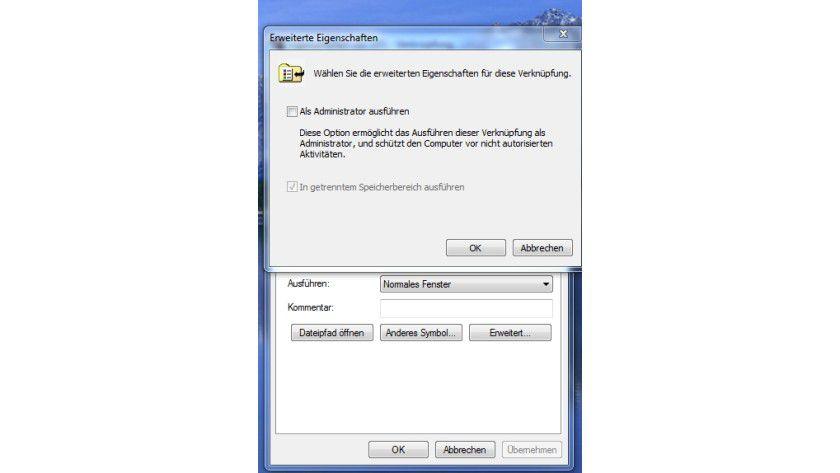 Gesicherter Bereich: Applikationen in einem separaten Speicherbereich können andere Programme bei einem Absturz nicht beeinflussen.