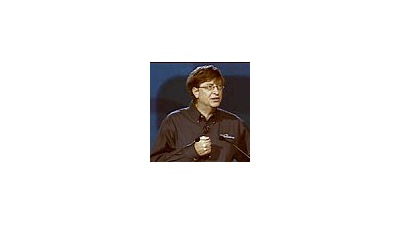Bill Gates launcht Visual Studio .Net