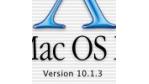 Apple veröffentlicht Update auf Mac OS X 10.1.3