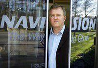 Jesper Balser, Chief Executive Officer und President bei Navision