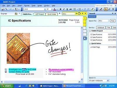 """Mit """"OneNote"""" sollen Office-Benutzer ab Mitte kommenden Jahres digitale Notizen verwalten."""