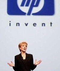 """""""Angsichts der anhaltenden Schwäche des IT-Markts freue ich mich über unser Abschneiden"""", erklärte HP-CEO Carly Fiorina."""