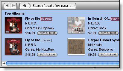 Auch in Apples iTunes Music Store kostet längst nicht jedes Album nur 9,99 Dollar...