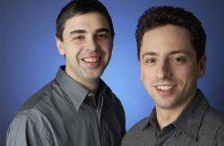 Gründer Larry Page und Sergey Brin: Multimilliardäre in spe.