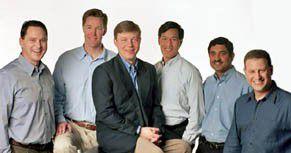Azuls Management: Matt McLaughlin, Scott Sellers, Stephen DeWitt, Kenton Chow, Shyam Pillalamarri und Gil Tene (v.l.n.r.)
