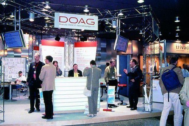 Knapp 1500 Besucher informierten sich auf der 17. Doag-Konferenz in Mannheim über die aktuellen Entwicklungen im Oracle-Umfeld.