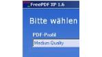 PDF-Erzeugung ohne viel Tamtam