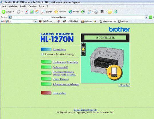 Mit den richtigen Suchbegriffen erhält man in kurzer Zeit Zugriff auf die Web-Konsolen von Druckern, Überwachungskameras oder Routern.