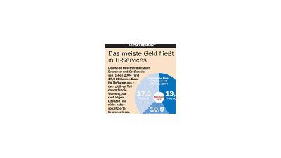 Das meiste Geld fließt in IT-Services (24/2005)