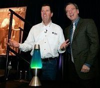 Sun-Chef Scott McNeally und Google-CEO Eric Schmidt. Fotos: Sun