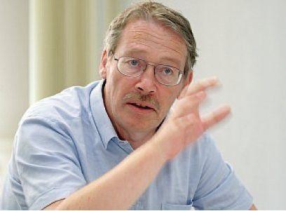 Wilhelm Hoegner, Stadt München, lebt mit zwei mutigen Entscheidungen: für Desktop-Linux und die Debian-Distribution. (Fotos: Joachim Wendler)