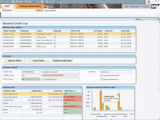 """Über einen """"Workspace"""" können Anwender künftig beispielsweise Informationen aus der Warenwirtschaft, CRM- und BI-Anwendungen zusammenstellen."""