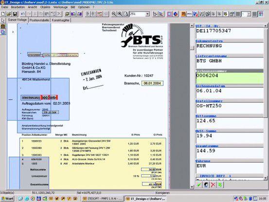 Strukturierte Vorgänge wie die Rechnungsverarbeitung lassen sich leicht computergestützt verbessern.