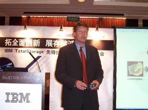 IBMs Speicherchef Andrew Monshaw