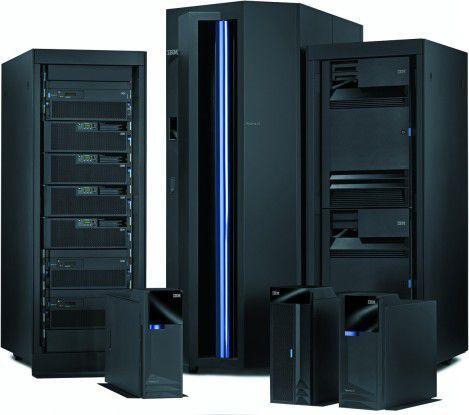 IBMs neue Midrange-Familie heißt i5 und besteht aus den vier Modellreihen 520, 550, 570 und 595.