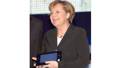 "CeBIT: Merkel kündigt nationalen ""IT-Gipfel"" an - Foto: Getty Images"