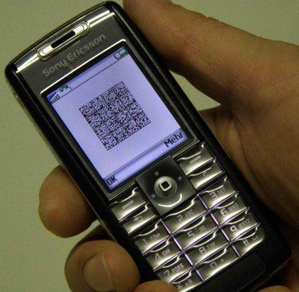 Der 2D-Barcode kann bis zu 650 Informationen aufnehmen.